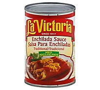La Victoria Sauce Enchilada Traditional Mild Can - 10 Oz