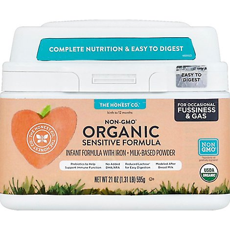 The Hones Baby Food Sensitive Organic - 21 Oz