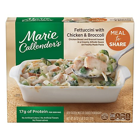 Marie Callenders Meal for Two Fettuccini With Chicken & Broccoli - 26 Oz