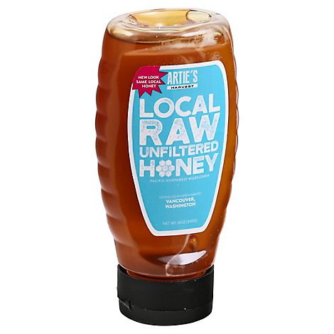 Arties Harvest Honey Local - 12 Oz