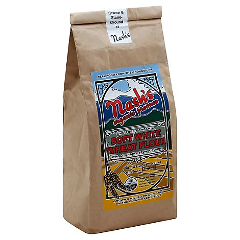 Nashs Organic Soft White Wheat Flour - 32 Oz