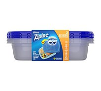 Ziploc Containers & Lids Divided Rectangle - 2 Count