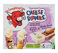 The Laughing Cow Creamy Cheese Dippers Garlic & Herb & Breadsticks - 5-1.23 Oz.