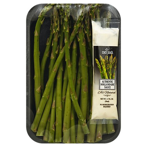 Asparagus W/ Hollandaise - 10 Oz