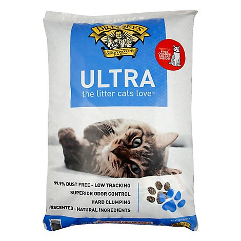 Ultra Scoopable Multi-Cat Hard Clumping 99.9 % Dust Free Ntrl Cat Litter - 40 Lb