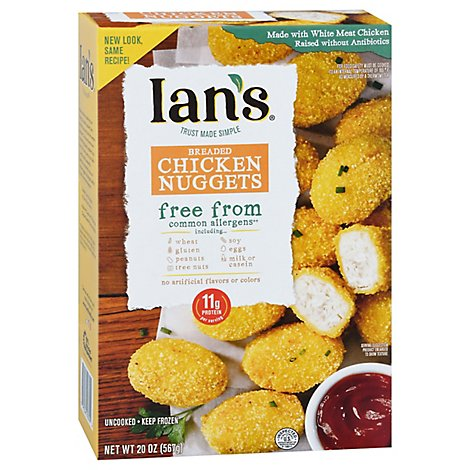 Ians Gluten Free Chicken Nuggets Family Pack - 20 Oz