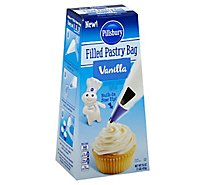 Pillsbury Pastry Bag Filled Vanilla - 16 Oz