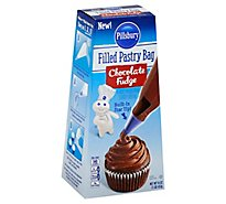 Pillsbury Filled Chocolate Fudge Flavored Pastry Bag - 16 Oz