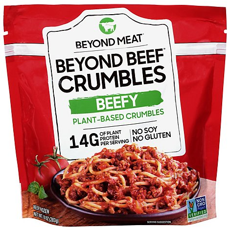 Beyond Me Meatless Beef Beefy Crumble - 10 Oz
