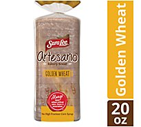 Sara Lee Artesano Bakery Bread Golden Wheat - 20 Oz