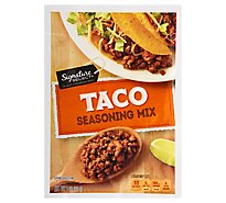 Signature SELECT Seasoning Mix Taco - 1 Oz