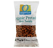 O Organics Pretzels Mini Twists - 10 Oz