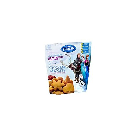 Golden Platter Chicken Nugget Disney Antibiotic Free Frozen - 20 Oz