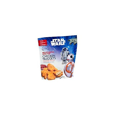 Golden Platter Chicken Nugget Star Wars Antibiotic Free Frozen - 20 Oz
