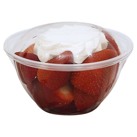 Strawberry & Creme Cup