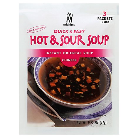 Mishima Hot N Sour Soup - 0.95 Oz