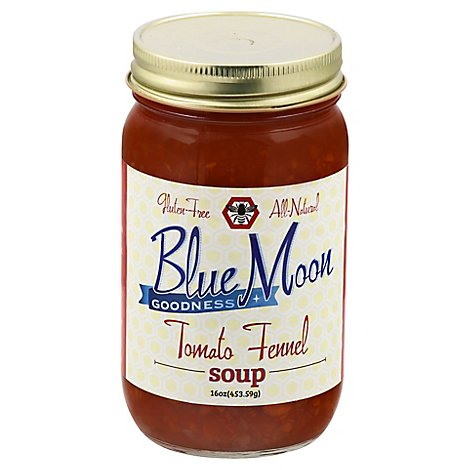 Blue Moon Goodness Soup Tomato Fennel - 16 Oz