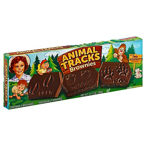 Little Debbie Brownies Animal Tracks 5 Count - 10.17 Oz