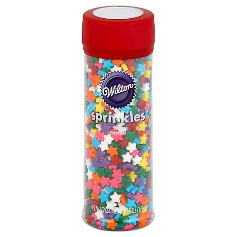 Wilton Sprinkles Stars Rainbow - 4.6 Oz
