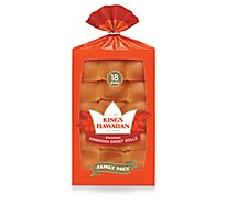 Kings Hawaiian Original Rolls - 18 Count - 18 oz.