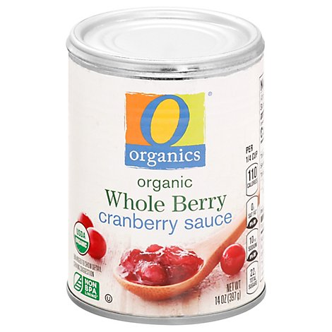 O Organics Organic Cranberry Sauce Whole Berry - 14 Oz