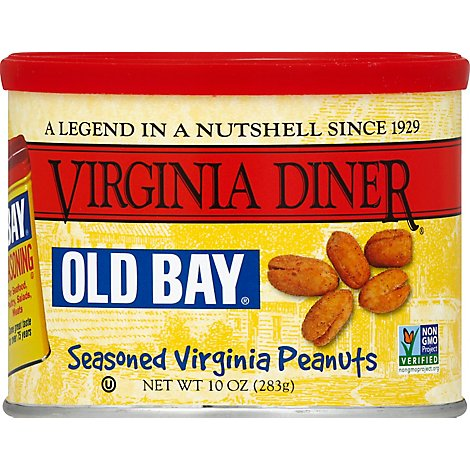 Virginia Diner Old Bay Seasoned Peanuts - 10 Oz