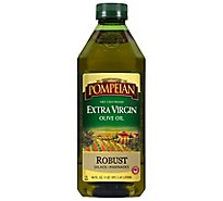 Pompeian Olive Oil Extra Virgin Robust Flavor - 48 Fl. Oz.