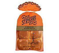 St Pierre Brioche Slider Rolls 12 Count - 16.9 Oz