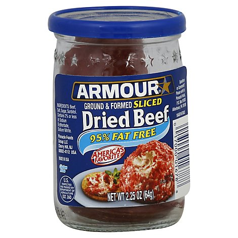 Armour Dried Beef Sliced Ground & Formed - 2.25 Oz