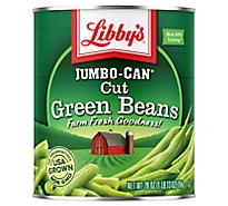 Libbys Green Beans Cut Blue Lake Jumbo-Can - 28 Oz