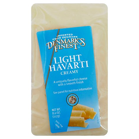 Denmarks Finest Havarti Light - 8 Oz
