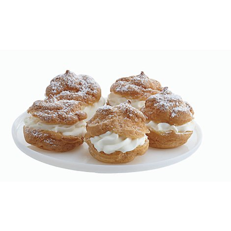 Bakery Cream Puff 5 Count - Each