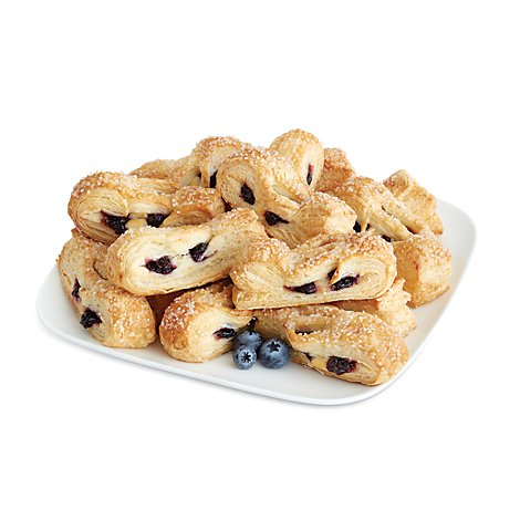 Bakery Strudel Blueberry & Cheese Straws 12 Count - Each