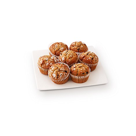Bakery Muffins Blueberry 7 Count - Each