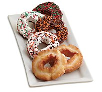 Bakery Donut Old Fashion Variety 10 Count - Each