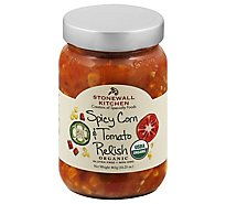 Stonewall Kitchen Og Spicy Corn And Tomato Relish - 16.25 Oz