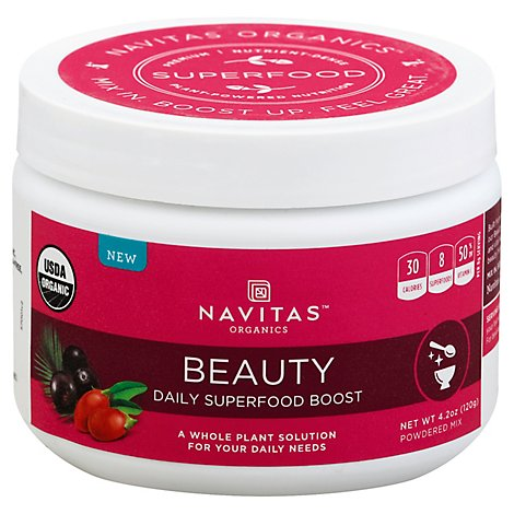 Navitas Beauty Boost Daily - 4.2 Oz