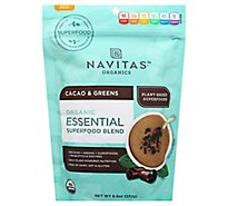 Navitas Essential Blend Cacao & Greens - 8.8 Oz