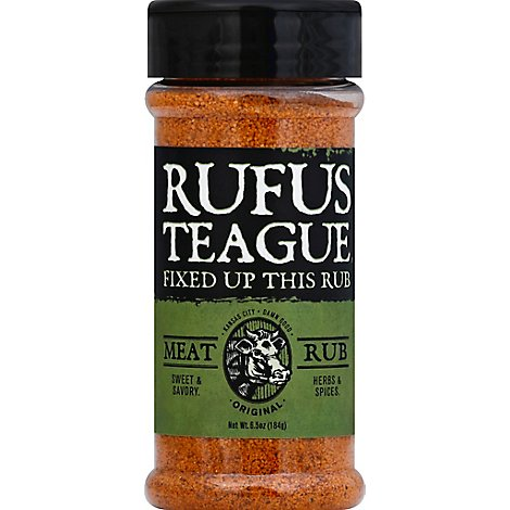 Rufus Teague Original Fixed Up Meat Rub - 6.5 Oz
