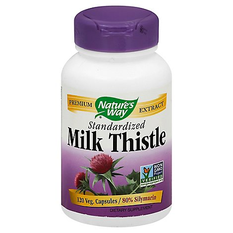 Natures W Milk Thistle Std 120vegcp - 120 Count