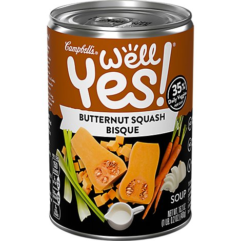 Campbells Well Yes! Soup Bisque Butternut Squash Apple - 16.2 Oz