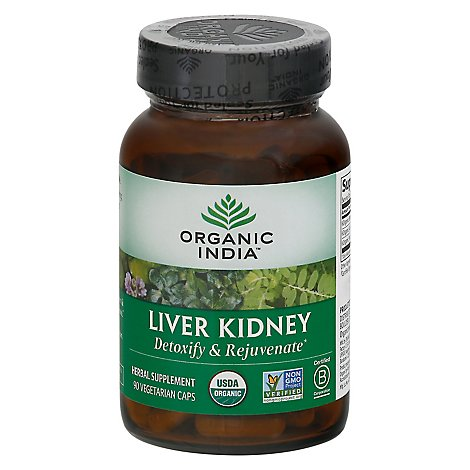 Organic I Liver Kidney Care - 90 Count