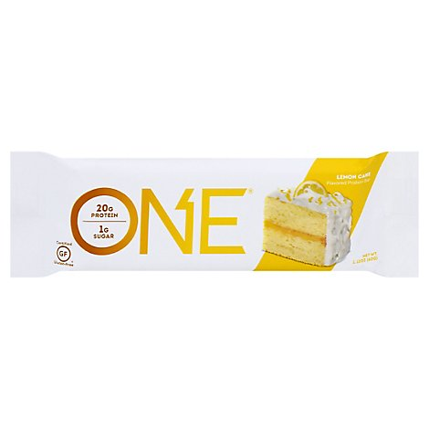 Oh Yeah! Protein Bar One 1g Sugar Lemon Cake - 2.12 Oz