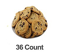 Bakery Cookies Chocolate Chip With Ghirardelli 36 Count - Each