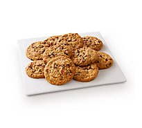 Fresh Baked Cranberry Oatmeal Raisin Jumbo Cookies - 10 Count