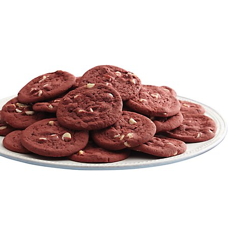 Bakery Cookies Red Velvet With Ghirardelli 36 Count - Each