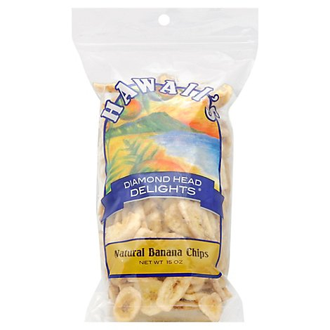 Hawaii Diamond Head Delight Banana Chip - 15 Oz