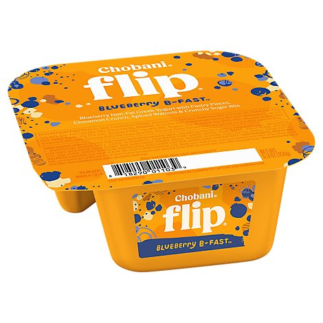 Chobani Flip Yogurt Greek Blueberry B-Fast - 5.3 Oz