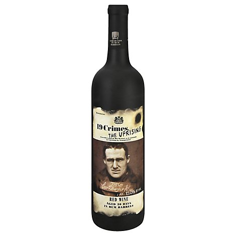 19 Crimes Wine Red The Uprising - 750 Ml