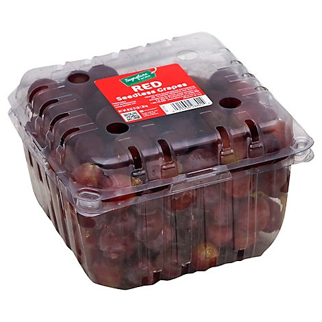 Signature Farms Red Seedless Grapes - 3 Lb